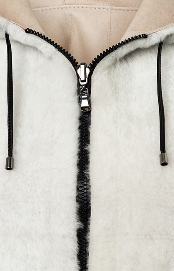 Pina: Short Lambskin Jacket