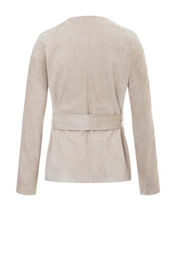 TAMMI: Leichte Jacke aus Ziegenvelours