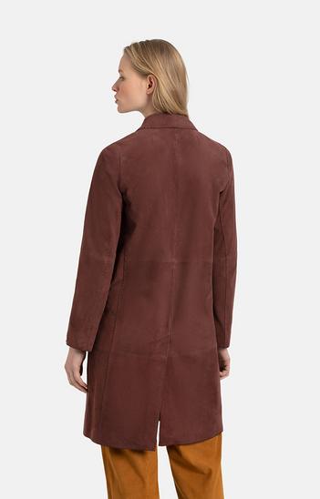TONJA: Leichter Mantel mit Handstichnähten