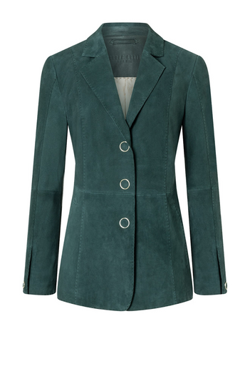MARGARITA: exquisite blazer with hand-stitche