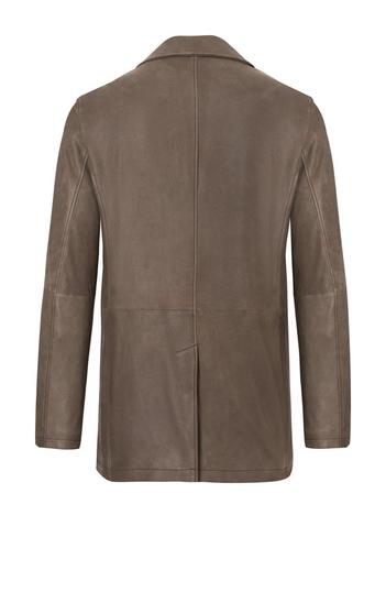 DIEGO: Jacke aus nappierten Ziegenvelours