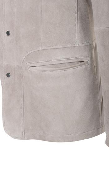 ERIC: Blazerjacke aus feinstem Ziegenvelours