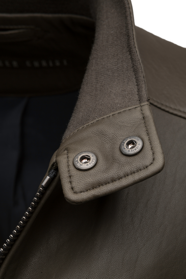DANY CW: Classic Bomber crafted in lamb nappa