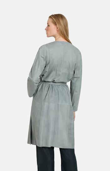 CAMILLA: casual coat dress in a midi length