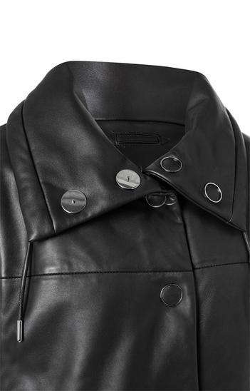 Kira: Quilted lamb nappa jacket