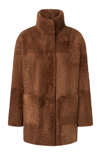 Madlen: Reversible, light lambskin jacket