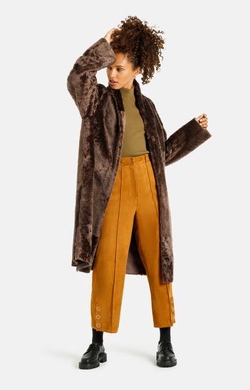Florentina: Leichter Mantel mit Schalkragen