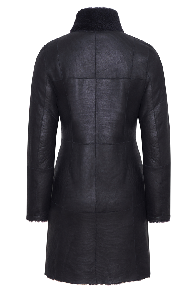 Dunja CW: Reversible coat in a blazer style