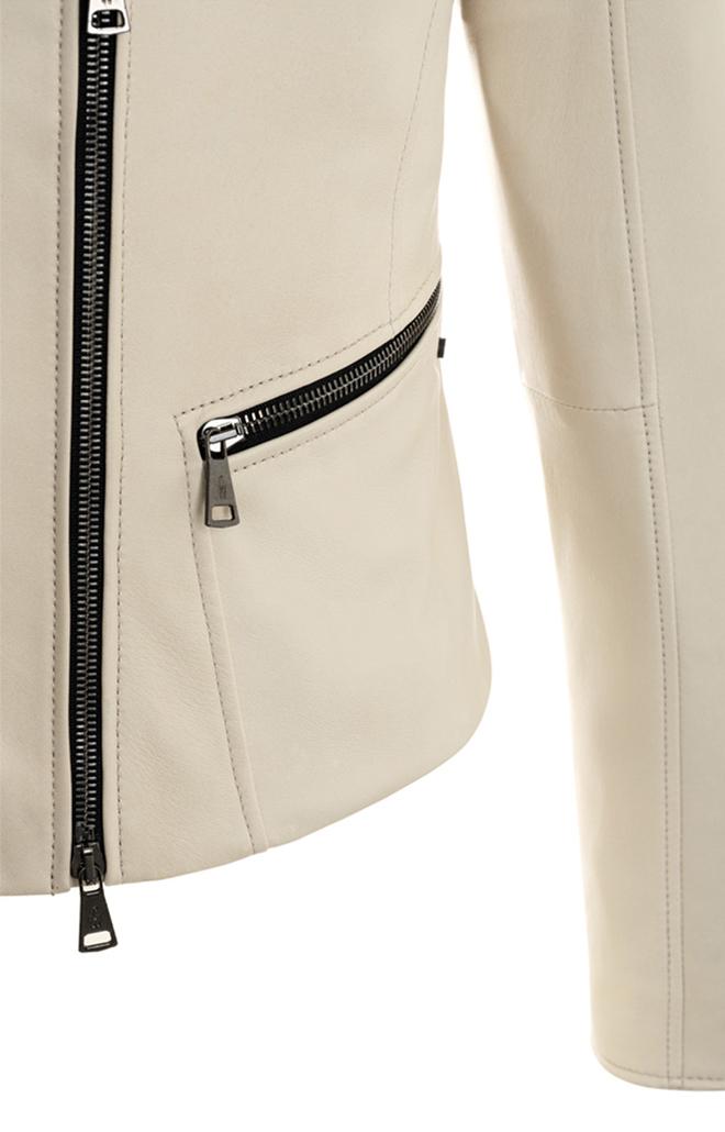 CARRIE: Biker jacket in soft lamb nappa