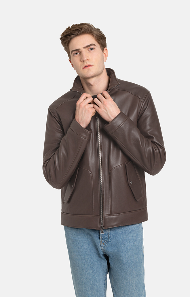THORBEN: PADDED BLOUSON IN A BOMBER STYLE