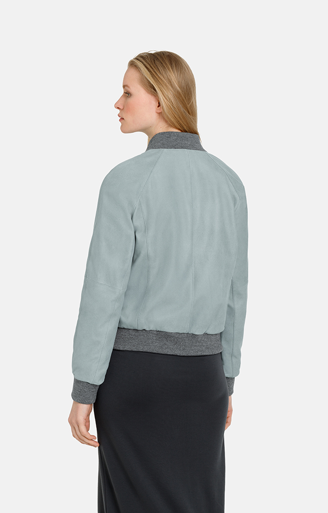 BONNIE T: blouson with decorative band